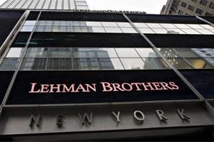 Lehman Brothers Holdings Inc. headquarters stands in New York. Photo: Bloomberg
