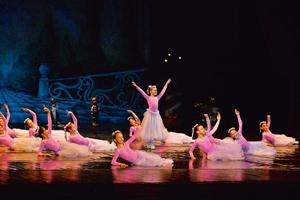Young ballerinas: A group from Romania will perform at the LTG Auditorium on Monday.