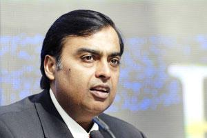 A file photo of Reliance Industries chairman Mukesh Ambani.