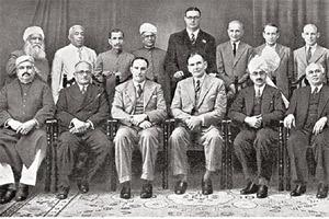 Documenting the past: RBI's first central board of directors, with governor Osborne Smith and deputy governor James B. Taylor (front row, fourth and third from left, respectively). Photo RBI.