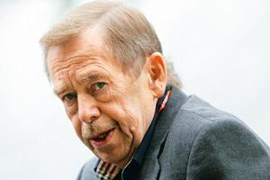 Political struggle: Much of Havel's term was cast as a struggle for the soul of democratic reforms against right-wing economist Vaclav Klaus, who replaced him as president in 2003. By Petr Josek/Reute