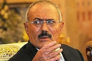 A file photo of Yemeni President Ali Abdullah Saleh (AP)