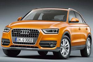 Audi Q3: Compact, yet premium - expect this car by May or June
