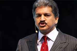 Anand Mahindra, vice chairman and managing director of Mahindra & Mahindra Ltd. Photo: Bloomberg