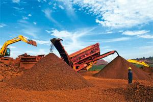 Drying exports: India is one of the world's biggest exporters of iron ore, with much of its product bought by China, which has the world's largest steel industry. Photo by Aniruddha Chowdhury/Mint.