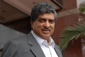 File photo of UIDAI chairman Nandan Nilekani