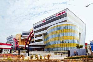 Tax trouble: The I-T department has sought to attach Mahindra Info City, the company's corporate headquarters in Madhapur, Hyderabad.