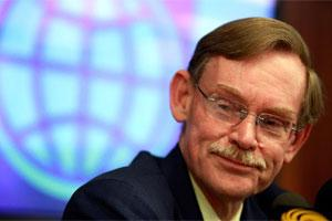 World Bank president Robert Zoellick.