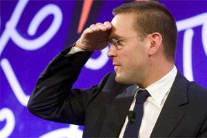 James Murdoch has stepped down as executive chairman of News International. Photo: Reuters