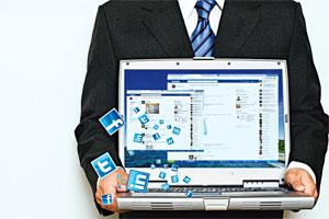 Not to be ignored: Integrate Facebook and Twitter in your work.