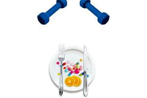 Eat right: Consuming less than 1,000 calories a day can cause a metabolic slowdown.