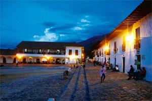 Bring on Bogotá: Evening at Villa de Leyva. Jhampan Mookerjee