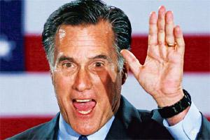 Clean sweep: Republican presidential candidate Mitt Romney . M. Spencer Green/AP