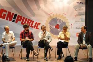 People from across platforms converged to discuss innovation practices at the Design Public Conclave.