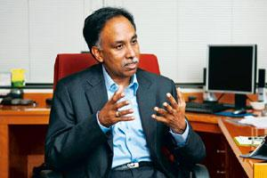 Tough going: Shibulal says he does not agree with the perception that Infosys is facing a leadership crisis. The reality is that Infosys continues to win large-scale transformation deals, he said. Pho