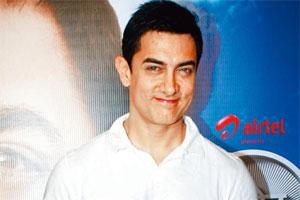 Grabbing eyeballs: Aamir Khan. HT photo