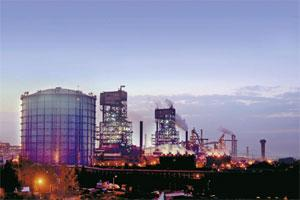 An undated handout picture of JSW Steel Ltd.'s Jindal Vijaynagar works, in Bellary. Bloomberg.