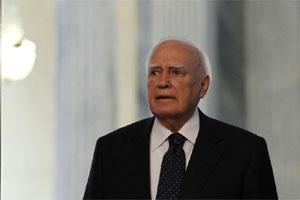 Greek President Karolos Papoulias. Photo: Bloomberg