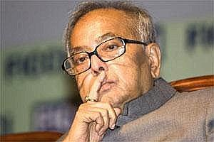 A file photo of finance minister Pranab Mukherjee