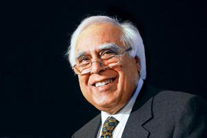 Seeking consensus: Technology minister Kapil Sibal. By Pradeep Gaur/Mint