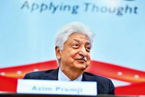 Scouting for deals: Wipro chairman Azim Premji. By Jagadeesh NV/Mint