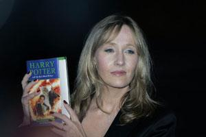 A file photo of J.K. Rowling.
