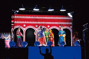 Folk and fusion: Roysten Abel's latest production, Old Town, uses elements of nautanki, folk and puppetry.