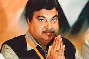 Plan of Action: Nitin Gadkari. Photo by Rajanish Kakade/AP.