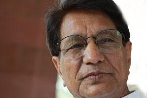 Civil aviation minister Ajit Singh.