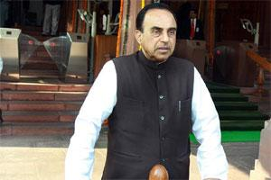 Janata Party president Subramanian Swamy