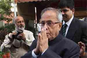 Larger role: Pranab Mukherjee had in April said BRICS nations should demand more time before deciding on their contribution. Photo: PTI