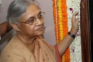 Delhi chief minister Sheila Dikshit. Photo: PTI