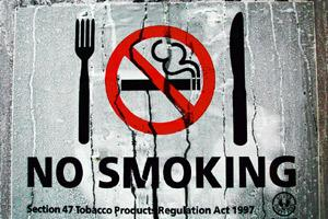 Nutrient thief: One cigarette smoked can rob the body of 25mg vitamin C.