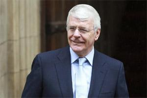 A file photo of  former British Prime Minister John Major (Reuters)