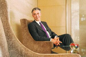 Five-pronged strategy: Appel says the firm plans to target life sciences, technology, energy and auto in India. Photo: Hemant Mishra/Mint