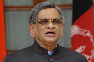 A file photo of external affairs minister, S.M. Krishna.