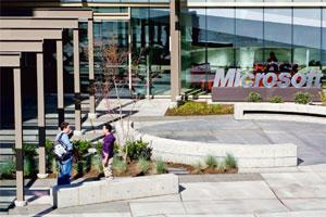 Value add: Microsoft headquarters in Washington. The company may pay over $1 billion for the acquisition that will help it add social-networking tools to the suite of products it offers corporate cust