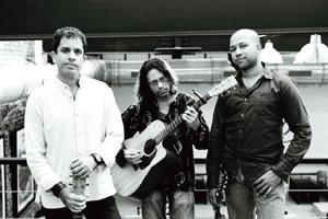 Strumming the notes: The acoustic rock band from Mumbai, Whirling Kalapas, will be jamming at B-Flat.