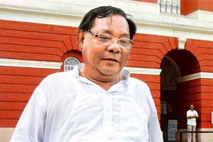Presidential candidate P.A . Sangma. Photo: HT