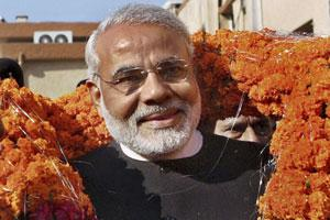 A file photo of Gujarat chief minister Narendra Modi.