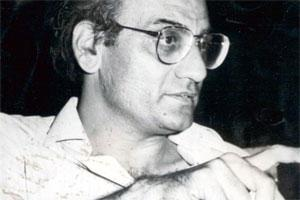 Tribute: The late film-maker Mani Kaul. Photo by Hindustan Times