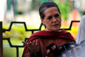A file photo of UPA chairperson Sonia Gandhi