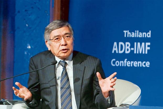 Haruhiko Kuroda, president of the Asian Development Bank, in Bangkok, Thailand. Photo by Dario Pignatelli/Bloomberg.