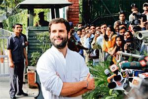 Stepping up: Rahul Gandhi says he will play a more proactive role in the party and the UPA, and that the timing will be up to Prime Minister Manmohan Singh and Congress president Sonia Gandhi. Photo: