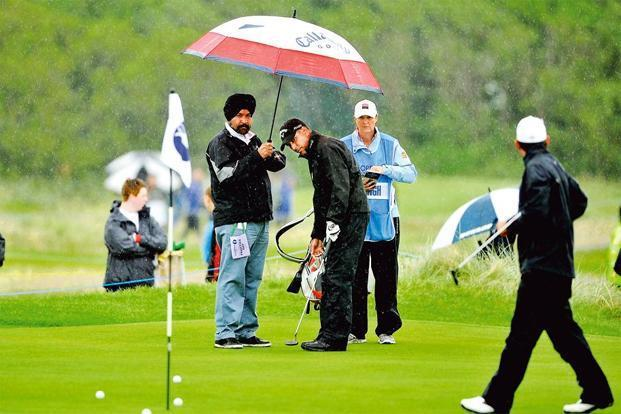 British Open: Jeev Milkha Singh. Photo: Paul Lakatos/Asian Tour