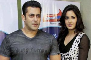 "Salman Khan and Katrina Kaif during the promotion of forthcoming film ""EkThaTiger"".  Photo: PTI"