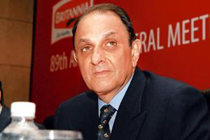 Brand equity: Nusli Wadia, Wadia group chairman. In the current year, Wadia group firms pay only 0.1% of revenue as royalty. Photo: Indranil Bhoumik/Mint