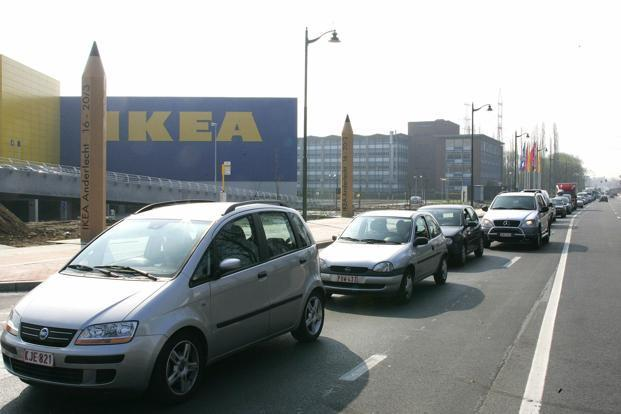 A file photo of an Ikea furniture store at Anderlecht in Brussels. Photo: Yves Herman/Reuters