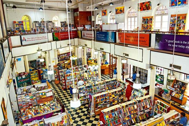 The flagship bookstore on Anna Salai in Chennai. Photo: Nathan G/Mint (Nathan G/Mint)