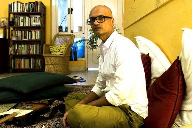Jeet Thayil at his home in Defence Colony, New Delhi. Photo: Divya Babu/Mint